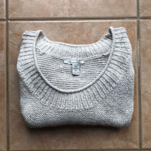 3/$30 American Rag Cream Knit Cropped Sweater XL